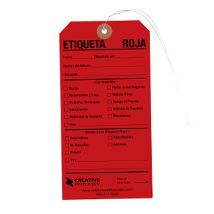 Etiquetas Rojas 5S - Spanish Red Tags