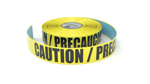 Caution / Precaucion - Inline Printed Floor Marking Tape
