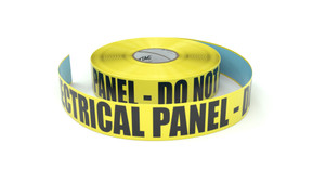 Electrical Panel - Do Not Block - Inline Printed Floor Marking Tape
