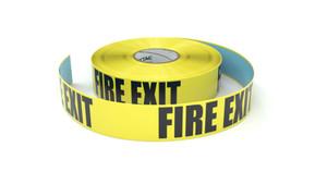 Fire Exit  - Inline Printed Floor Marking Tape