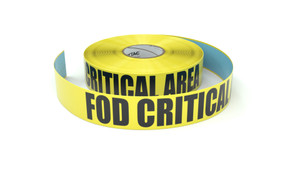 FOD Critical Area - Inline Printed Floor Marking Tape