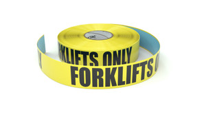 Forklifts Only - Inline Printed Floor Marking Tape