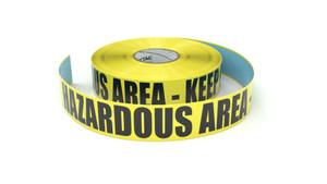 Hazardous Area - Inline Printed Floor Marking Tape