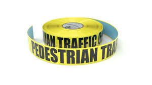 Pedestrian Traffic Only  - Inline Printed Floor Marking Tape