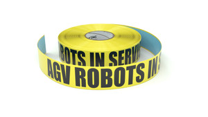 AGV Robots In Service - Inline Printed Floor Marking Tape