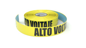 Alto Voltaje (High Voltage Spanish) - Inline Printed Floor Marking Tape