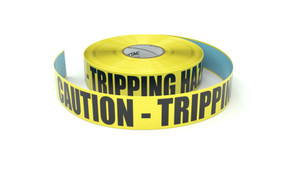 Caution - Tripping Hazard - Inline Printed Floor Marking Tape