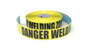 Danger Welding Zone - Inline Printed Floor Marking Tape