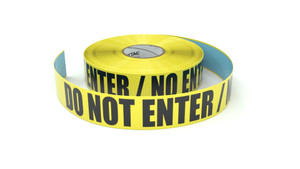 Do Not Enter / No Entre - Inline Printed Floor Marking Tape