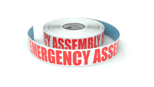 Emergency Assembly Area - Inline Printed Floor Marking Tape