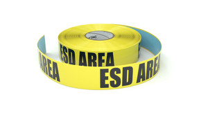 ESD Area - Inline Printed Floor Marking Tape