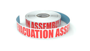 Evacuation Assembly Area - Inline Printed Floor Marking Tape