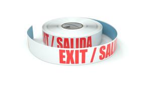 Exit / Salida - Inline Printed Floor Marking Tape