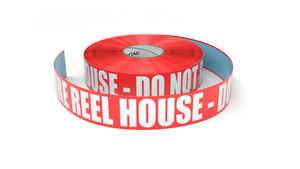 Fire Reel House - Do Not Block - Inline Printed Floor Marking Tape