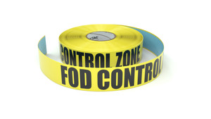 FOD Control Zone - Inline Printed Floor Marking Tape