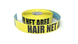 Hair Net Area - Inline Printed Floor Marking Tape