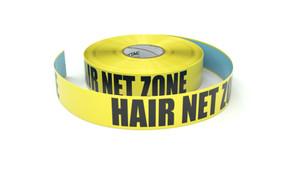 Hair Net Zone - Inline Printed Floor Marking Tape