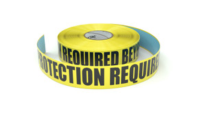 Hearing Protection Required Beyond This Point - Inline Printed Floor Marking Tape