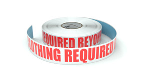 Hi-Vis Clothing Required Beyond This Point - Inline Printed Floor Marking Tape