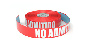 No Admitido (No Admittance Spanish) - Inline Printed Floor Marking Tape