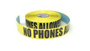No Phones Allowed  - Inline Printed Floor Marking Tape