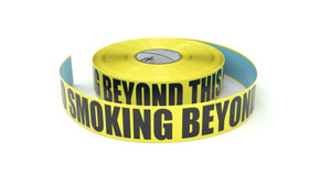 No Smoking Beyond This Point - Inline Printed Floor Marking Tape