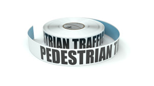 Pedestrian Traffic - Inline Printed Floor Marking Tape