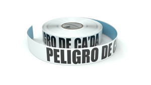 Peligro De Ca'da (Fall Hazard Spanish) - Inline Printed Floor Marking Tape
