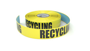 Recycling - Inline Printed Floor Marking Tape