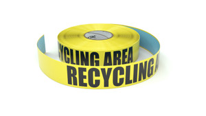 Recycling Area - Inline Printed Floor Marking Tape
