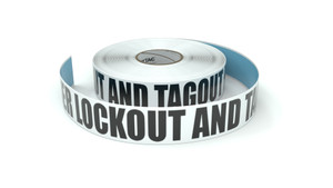 Remember Lockout and Tagout Procedures - Inline Printed Floor Marking Tape