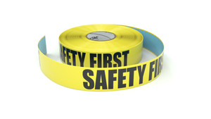 Safety First - Inline Printed Floor Marking Tape