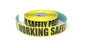 Safety First: Working Safely Prevents Accidents - Inline Printed Floor Marking Tape