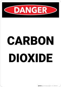 Carbon Dioxide - Portrait Wall Sign