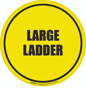 Large Ladder Floor Sign