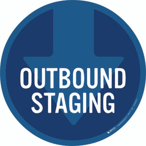 Outbound Staging Floor Sign