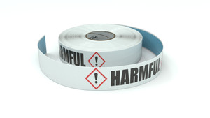 GHS: Harmful Icon Horizontal - Inline Printed Floor Marking Tape