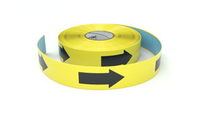 Arrow Symbol Horizontal - Inline Printed Floor Marking Tape