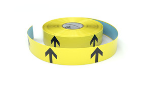 Arrow Symbol Vertical - Inline Printed Floor Marking Tape
