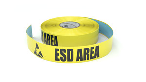ESD Area with Hand Symbol - Inline Printed Floor Marking Tape