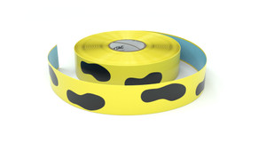 Footprint symbol horizontal - Inline Printed Floor Marking Tape