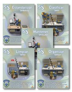 5S Shopfloor Series (Spanish)