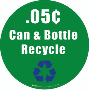 .05Ì_ÌÇåÎÌàÌ_åÇåÎå¢ Can & Bottle Recycle Floor Sign