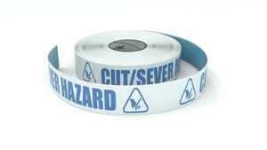 ANSI: Cut/Sever Hazard - Inline Printed Floor Marking Tape