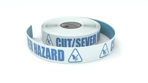 ANSI: Cut/Sever Hazard - Inline Printed Floor Marking Tape