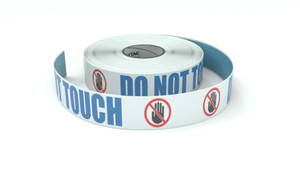 ANSI: Do Not Touch - Inline Printed Floor Marking Tape