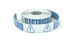 ANSI: Electrical Hazard - Inline Printed Floor Marking Tape