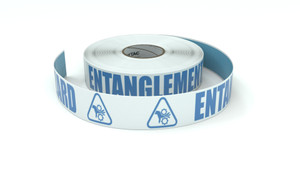 ANSI: Entanglement Hazard - Inline Printed Floor Marking Tape