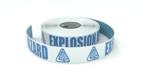 ANSI: Explosion Hazard - Inline Printed Floor Marking Tape