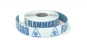 ANSI: Flammable Hazard - Inline Printed Floor Marking Tape